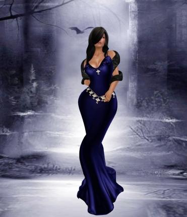 Itiera Vampira - Royal Blue