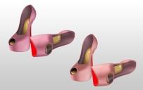 Mesh Heels for Slink High feet - Dark Pink & Pink