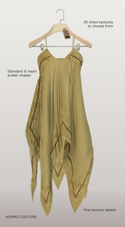Bali summer dress