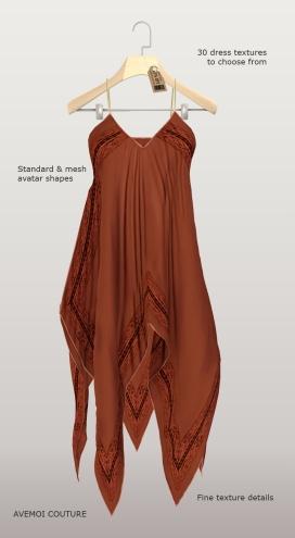 Bali summer dress for classic shapes
